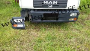 Бампер MAN - до ремонта