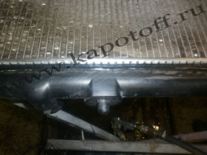 Радиатор - после ремонта