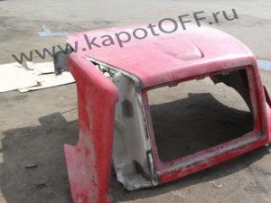 Капот VOLVO - до ремонта